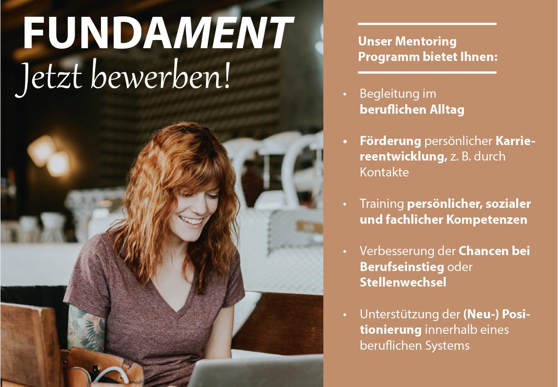 """Das VDOE-Mentoringprogramm """"FUNDAMENT"""""""