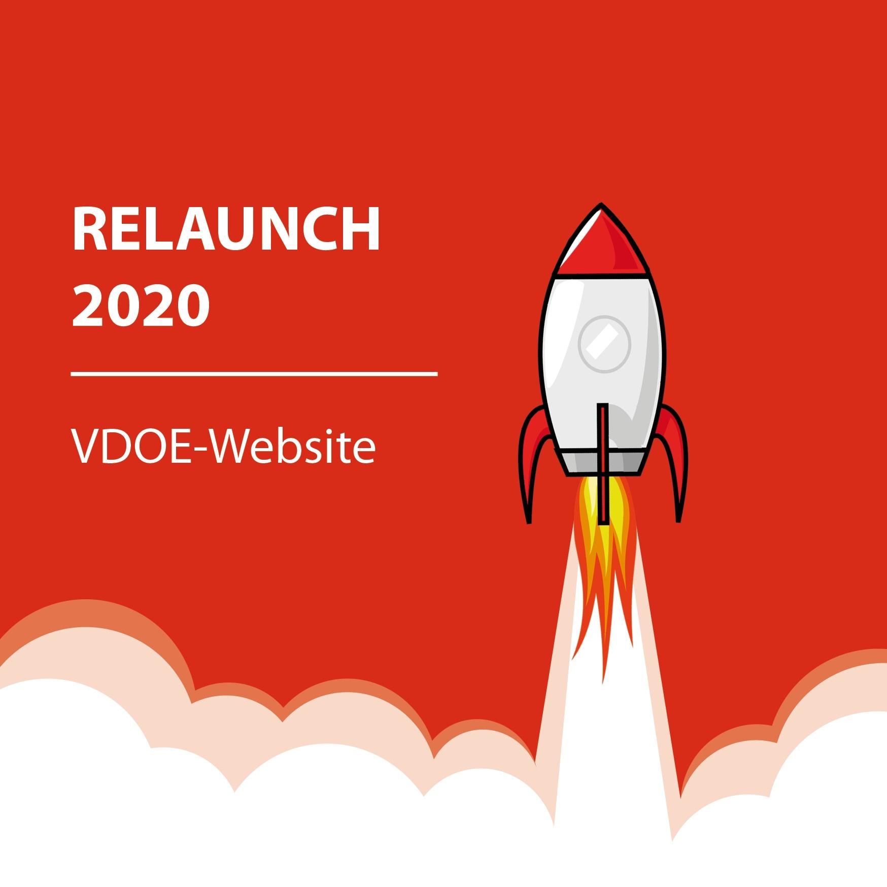 VDOE-Website: RELAUNCH 2020