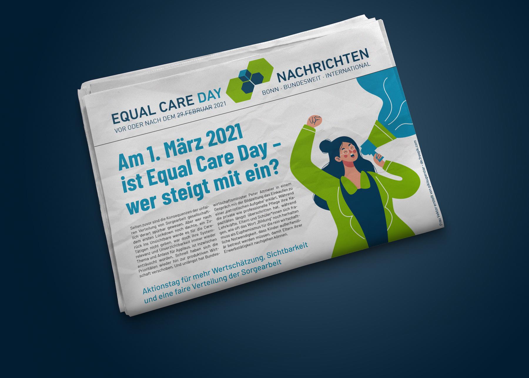 Equal Care Day am 1. März 2021 – Einladung zur Online-Konferenz
