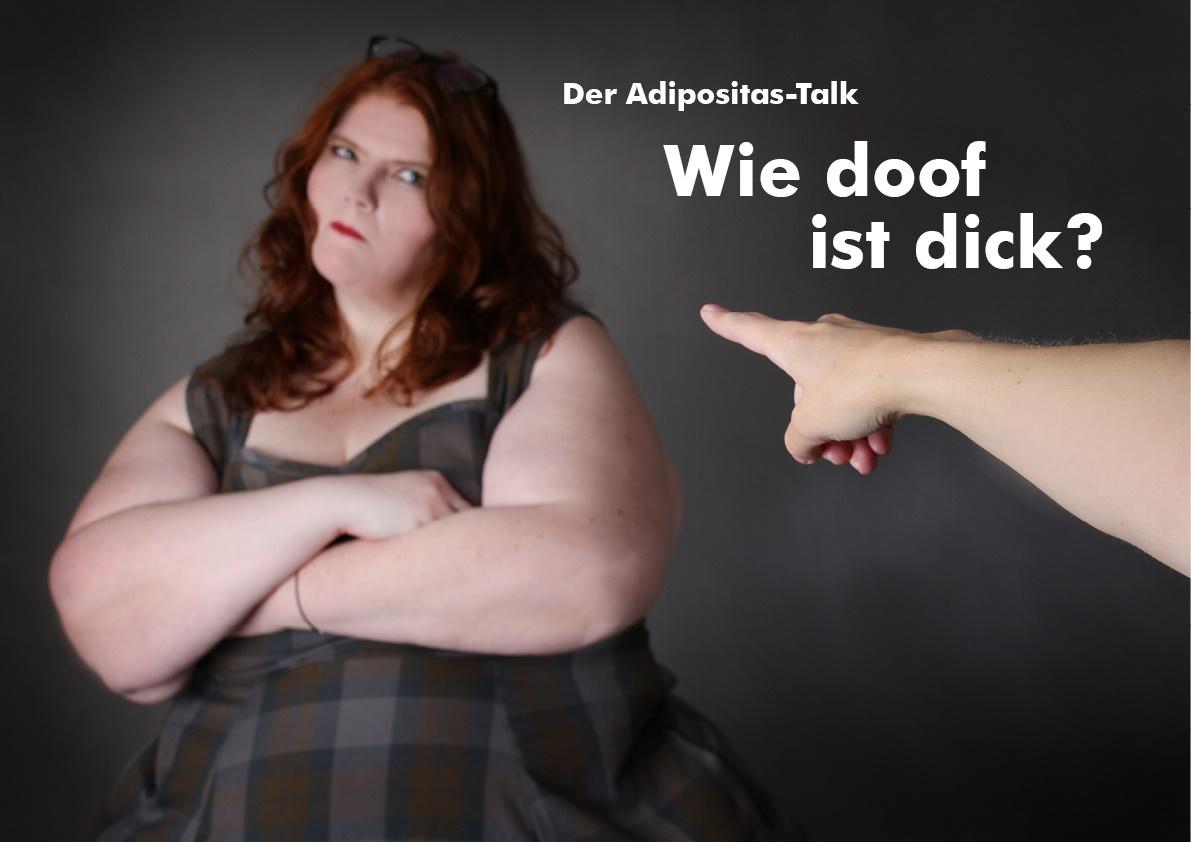 Welt-Adipositas-Tag am 04.03.:  Einladung zum Adipositas-Talk: Wie doof ist dick?