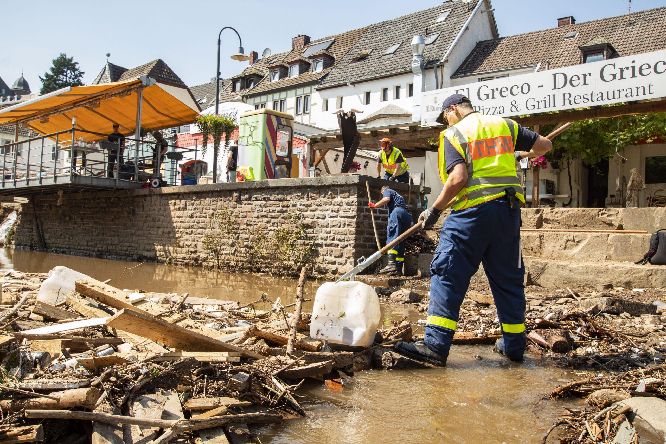 Auswirkungen der Flutkatastrophe – VDOE hilft helfen